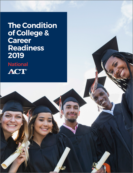 Condition of College and Career Readiness 2019 report cover