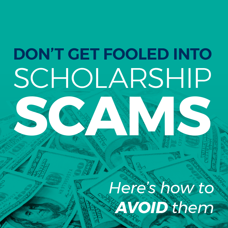 Don't get fooled into scholarship scams