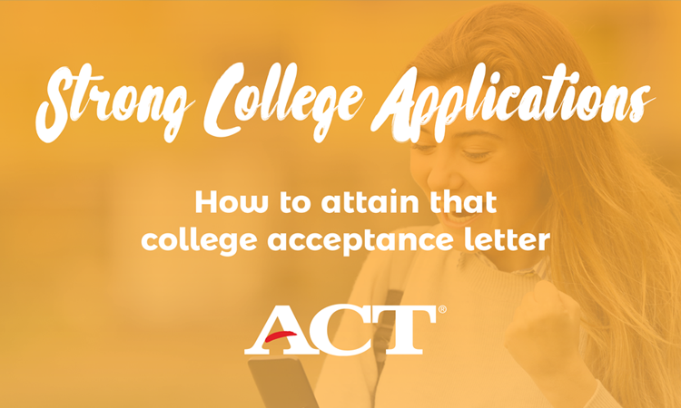 Social Media Image - Submitting a Strong College Application