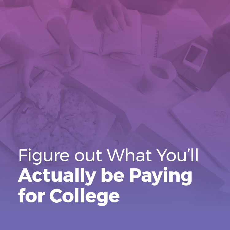 What you'll actually pay for college